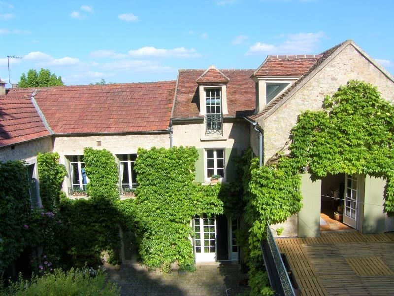 Revenda residencial de prestígio casa Villennes seur seine medan 1275000€ - Fotografia 2