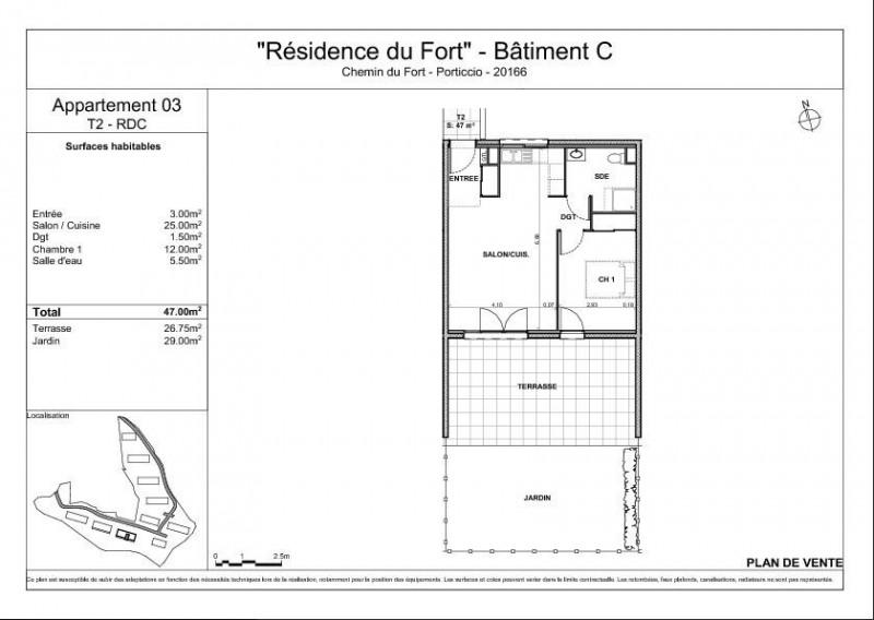 Vente appartement Porticcio (pietrosella) 225000€ - Photo 2