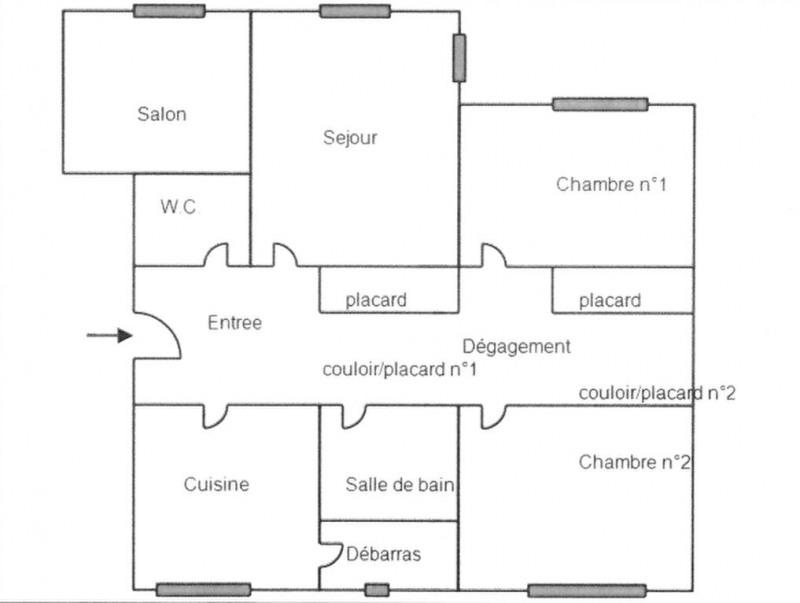Vente appartement Crosne 139000€ - Photo 3