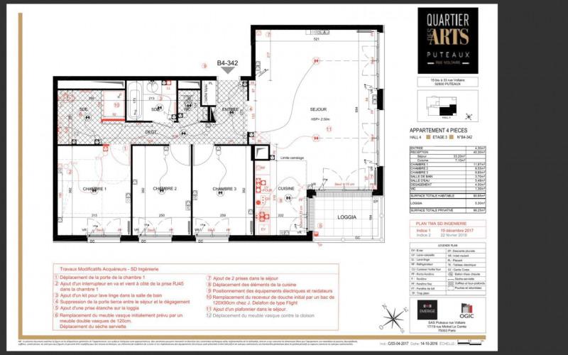 Vente appartement Puteaux 830000€ - Photo 1