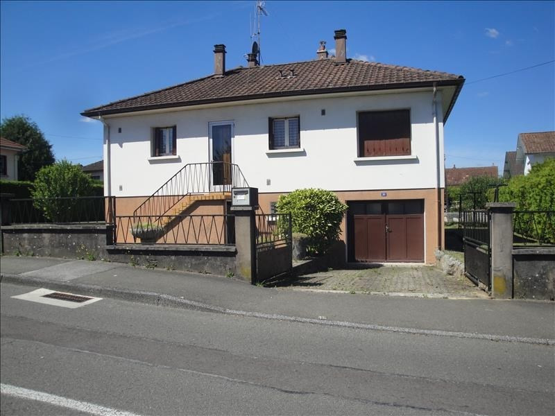 Venta  casa Audincourt 97000€ - Fotografía 1