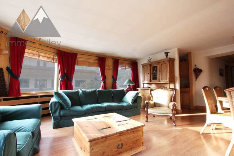 Vente de prestige appartement Megève 730 000€ - Photo 2