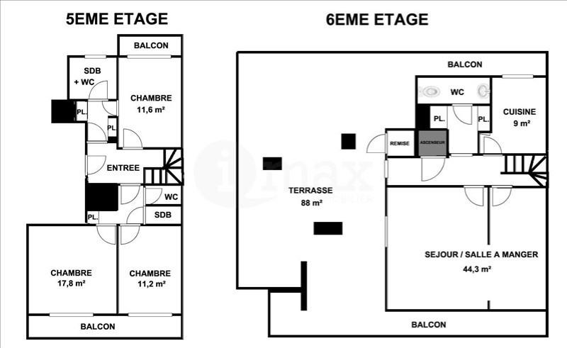 Sale apartment Courbevoie 949000€ - Picture 5