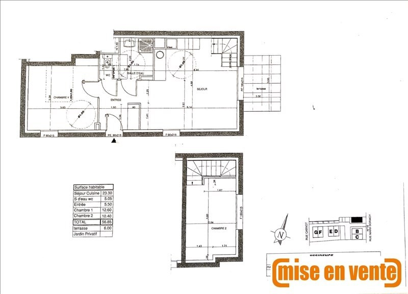 Sale apartment Noisy le grand 312 000€ - Picture 1