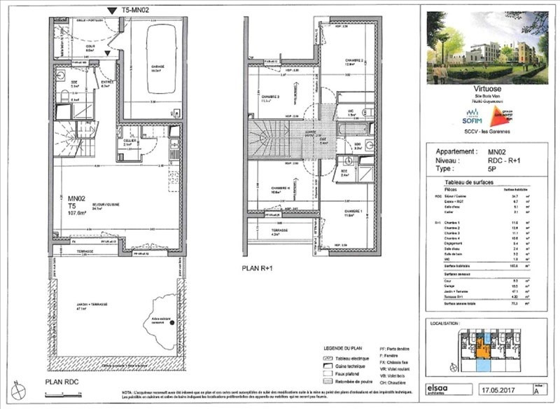 Revenda casa Guyancourt 519700€ - Fotografia 1