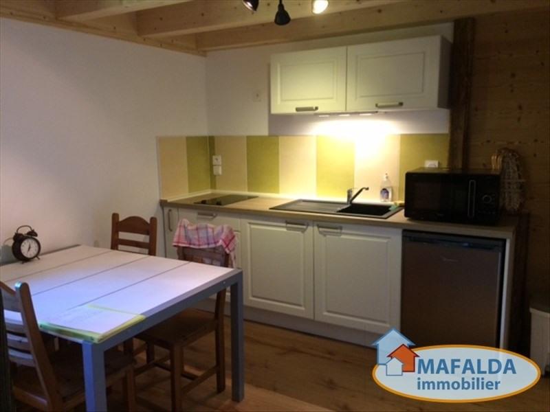 Rental apartment Mont saxonnex 690€ CC - Picture 2