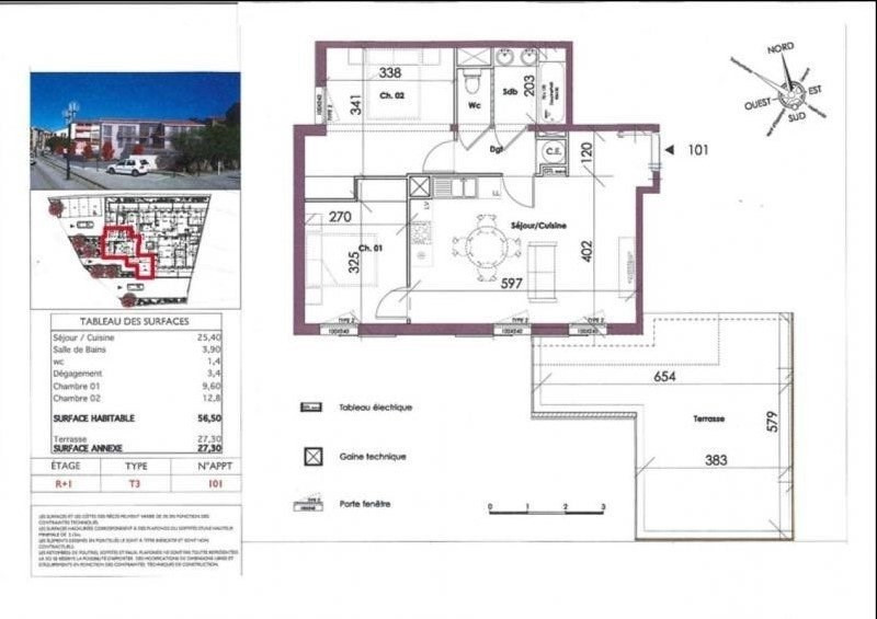 Sale apartment Collioure 231360€ - Picture 1