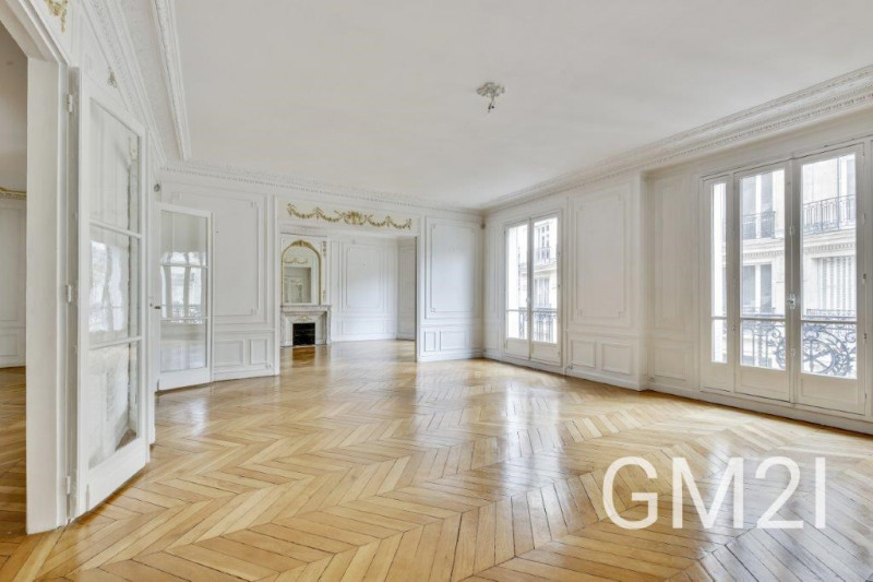 Deluxe sale apartment Paris 16ème 2 820 000€ - Picture 1