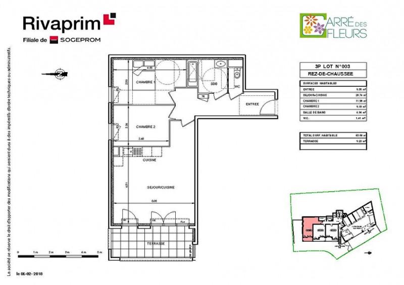 Vente appartement Nice 262000€ - Photo 2