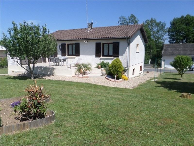 Vente maison / villa Lussac les chateaux 121000€ - Photo 1