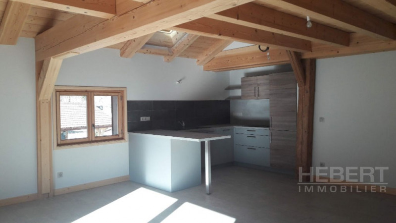 Rental apartment Magland 980€ +CH - Picture 1