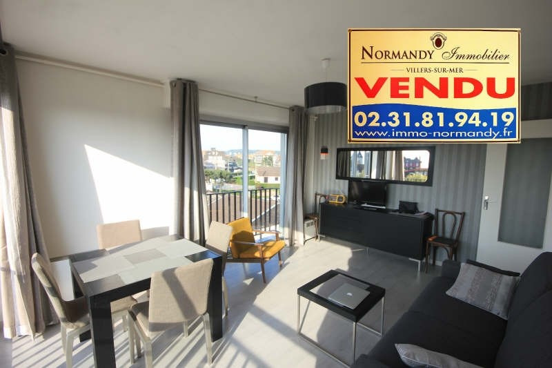 Vente appartement Villers sur mer 123 500€ - Photo 1