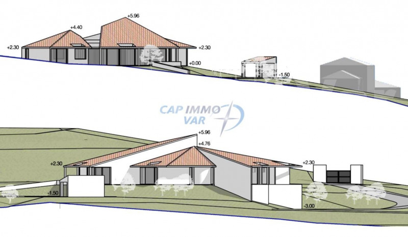 Terrain à bâtir de 2478 m²