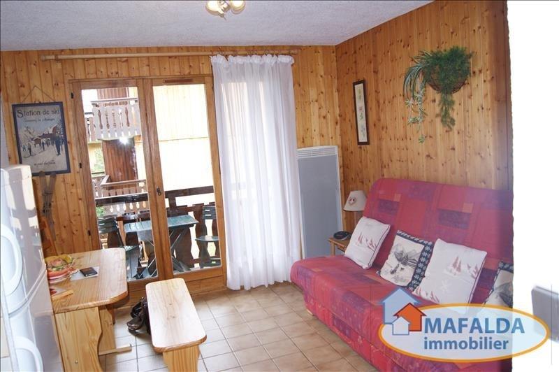 Location appartement Mont saxonnex 450€ CC - Photo 1