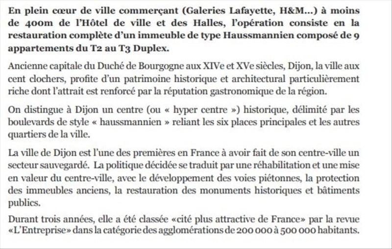 Vente neuf programme Dijon  - Photo 3