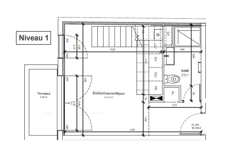 Sale apartment Massy 241000€ - Picture 2