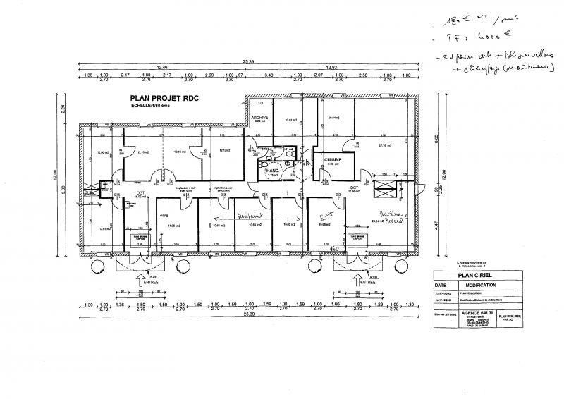 Alquiler  oficinas Valence 3150€ HT/HC - Fotografía 4