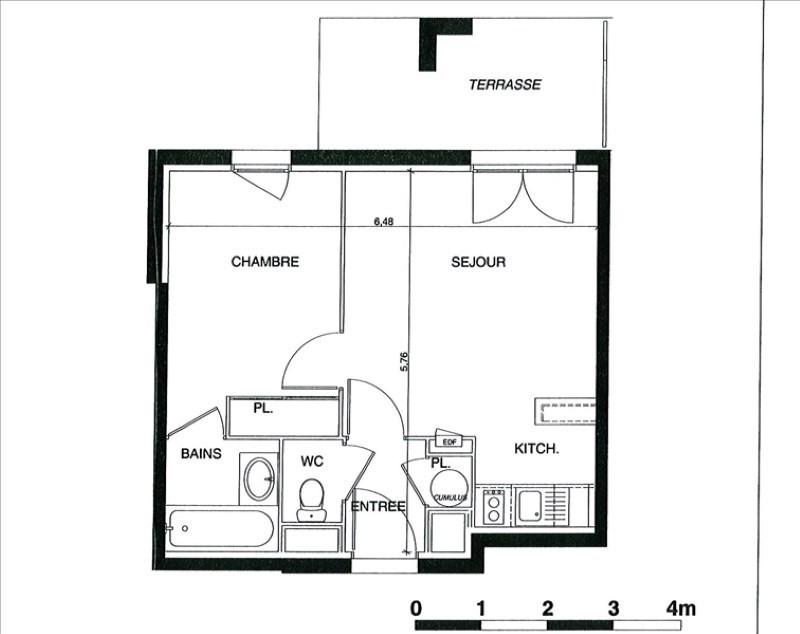 Vente appartement Castelnau-d'estrétefonds 86000€ - Photo 2