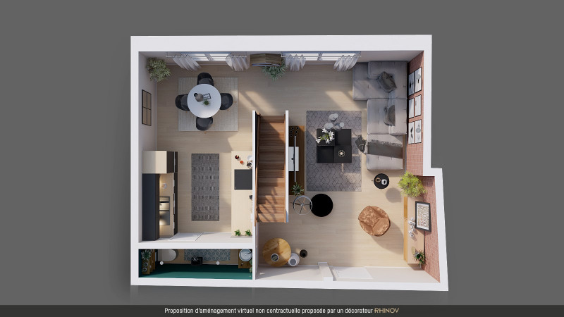 Vente appartement Bourgoin-jallieu 99 000€ - Photo 3
