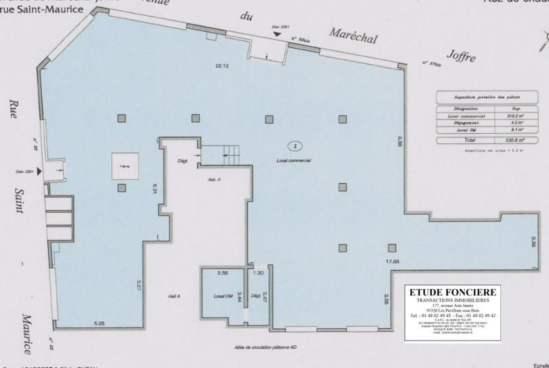 Rental shop Nanterre 5900€ HC - Picture 2