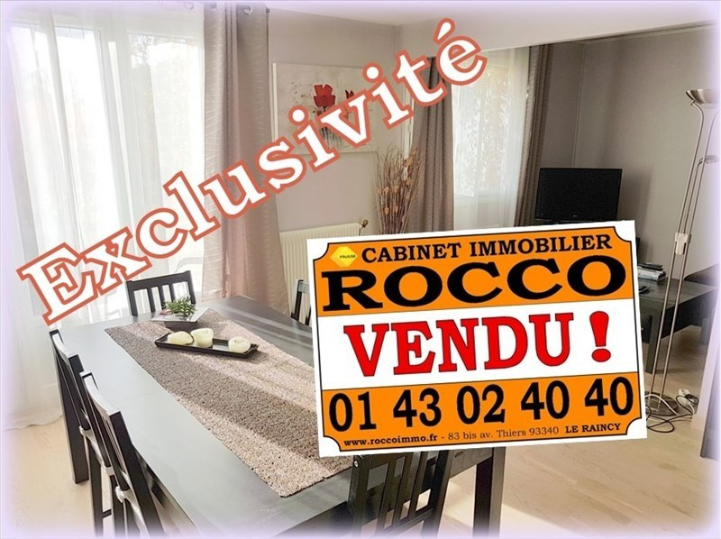 Vente appartement Le raincy 215 000€ - Photo 1