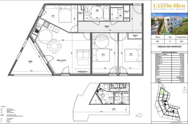 Vente de prestige appartement Balaruc les bains 286000€ - Photo 4
