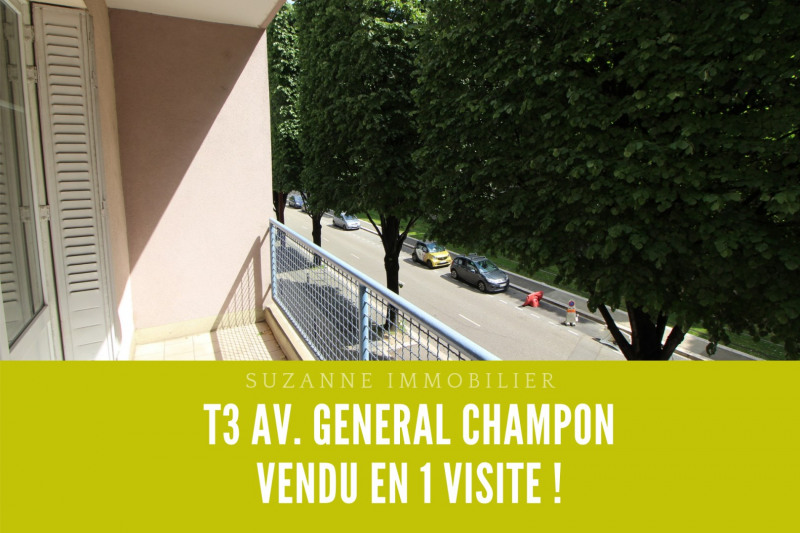 Vente appartement Grenoble 128 000€ - Photo 1