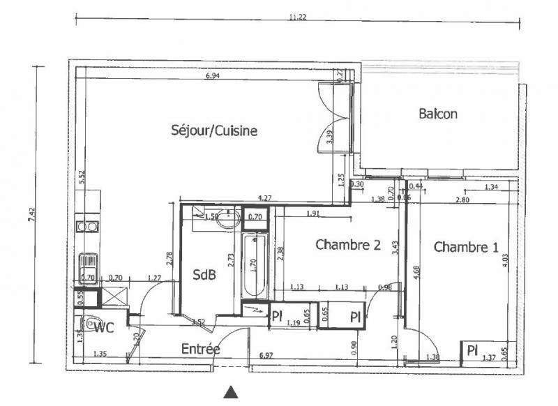 Vente appartement Clichy 479000€ - Photo 8