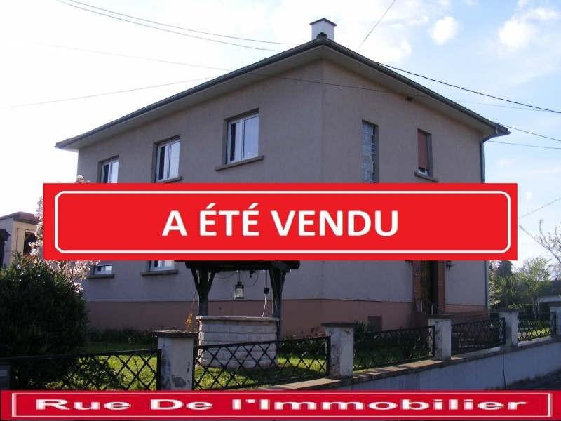 Sale house / villa Gundershoffen 197000€ - Picture 1