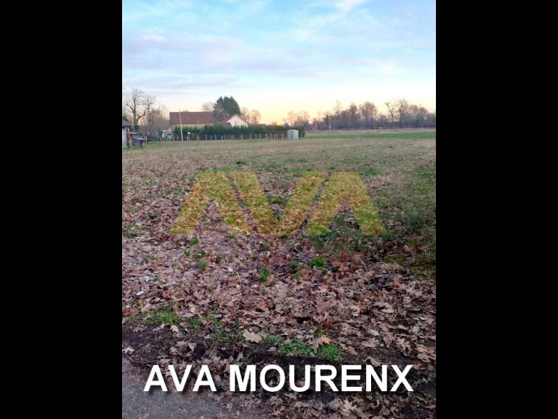 Vendita terreno Mourenx 64800€ - Fotografia 1