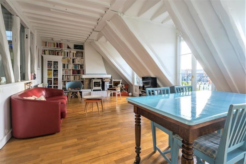Deluxe sale apartment Paris 4ème 1160000€ - Picture 2