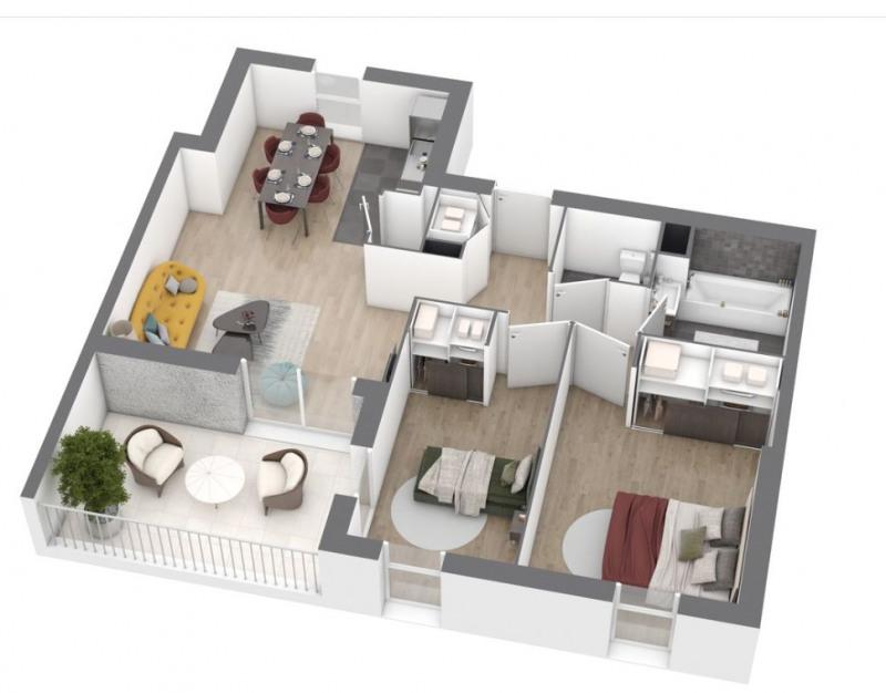 Vente appartement Saint nazaire 212000€ - Photo 5