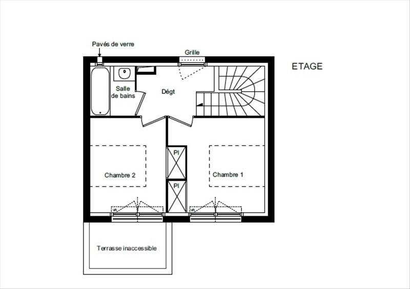 Vente maison / villa Toulouse 242000€ - Photo 3