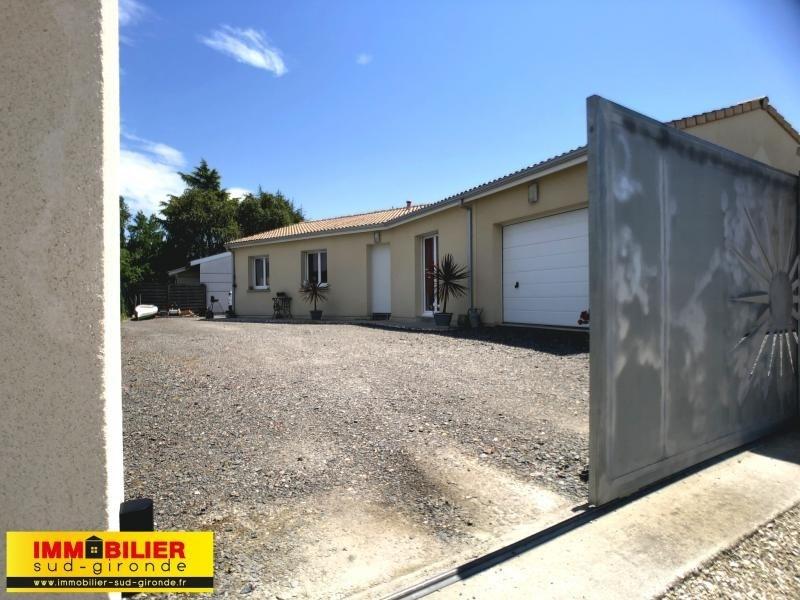 Vente maison / villa Podensac 249100€ - Photo 9