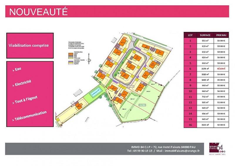Sale site Soumoulou 59000€ - Picture 2