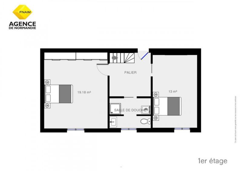 Vente maison / villa Montreuil-l'argillé 106750€ - Photo 9