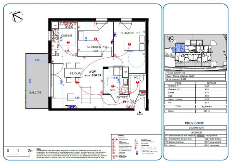 Sale apartment L isle d'abeau 189000€ - Picture 2