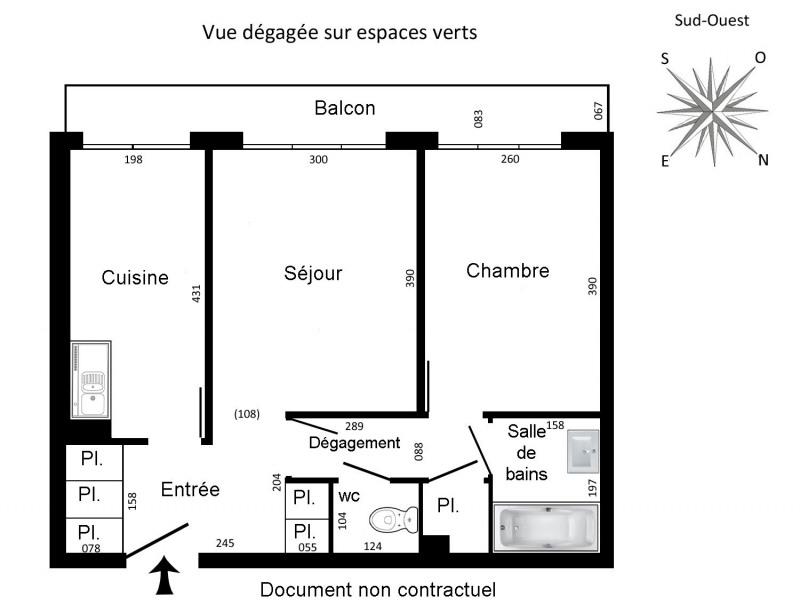 Rental apartment Rueil-malmaison 817€ CC - Picture 5