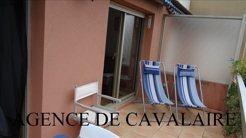 Investment property apartment Cavalaire 163 000€ - Picture 1