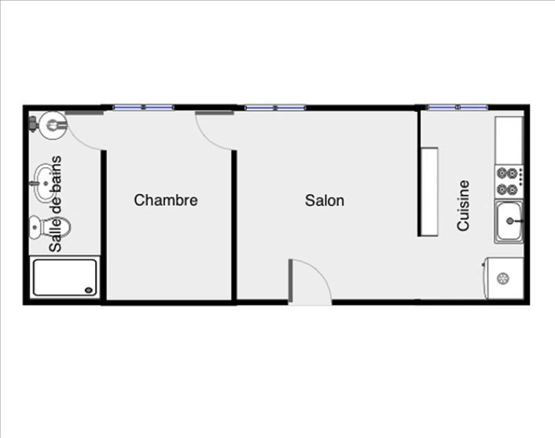 Location appartement Palaiseau 750€ CC - Photo 1