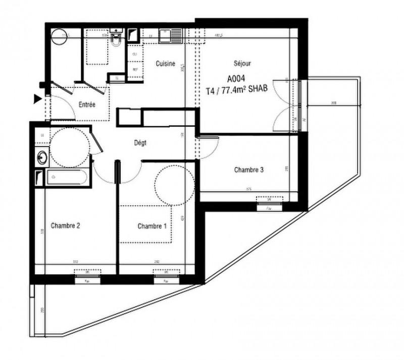 Sale apartment Aigues mortes 271000€ - Picture 2