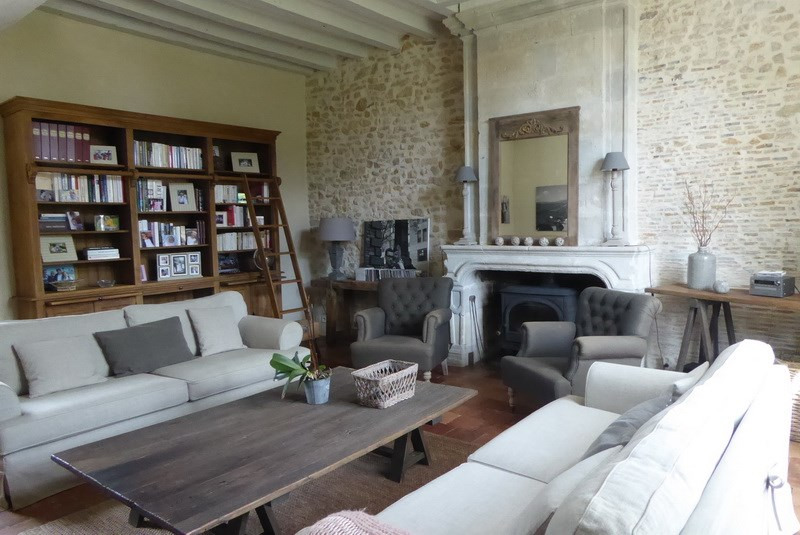 Deluxe sale house / villa Angers 25 mn nord-est 487 000€ - Picture 3