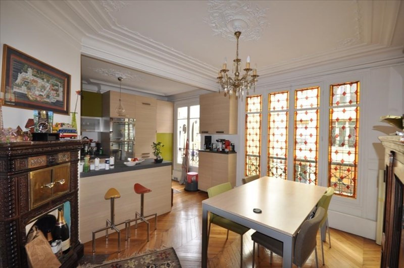 Rental apartment Paris 18ème 2750€ CC - Picture 4