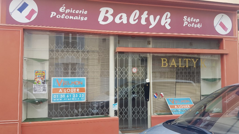 Location local commercial Saint germain en laye 1 250€ CC - Photo 1