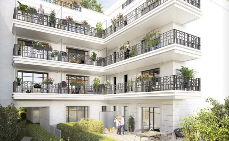 Venta  apartamento Levallois perret 976000€ - Fotografía 4