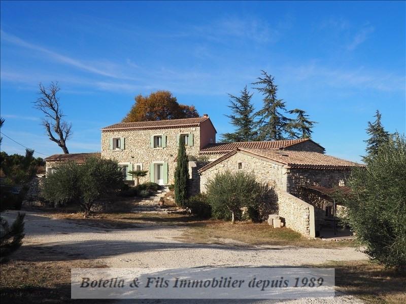 Vente de prestige maison / villa St martin d ardeche 690000€ - Photo 1