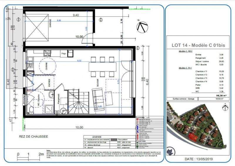 Sale house / villa L isle d'abeau 300200€ - Picture 2