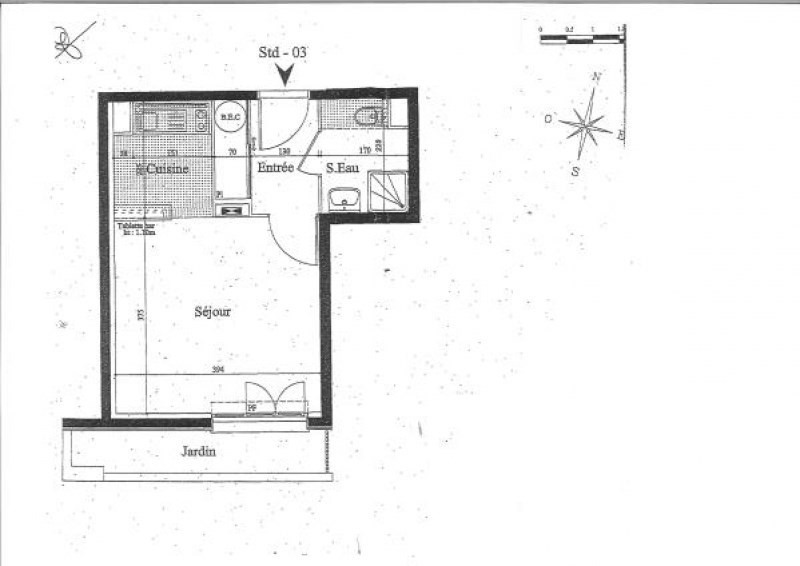 Vente appartement Le raincy 119000€ - Photo 6