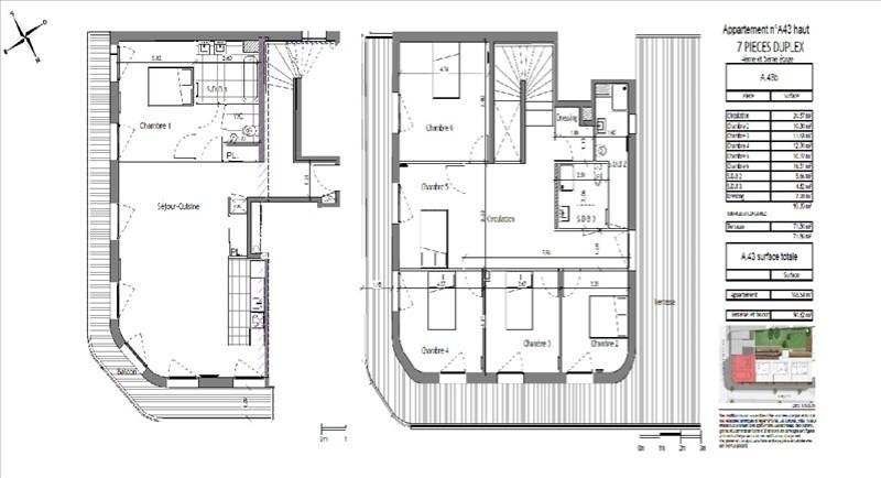Vente de prestige appartement Puteaux 1260000€ - Photo 1