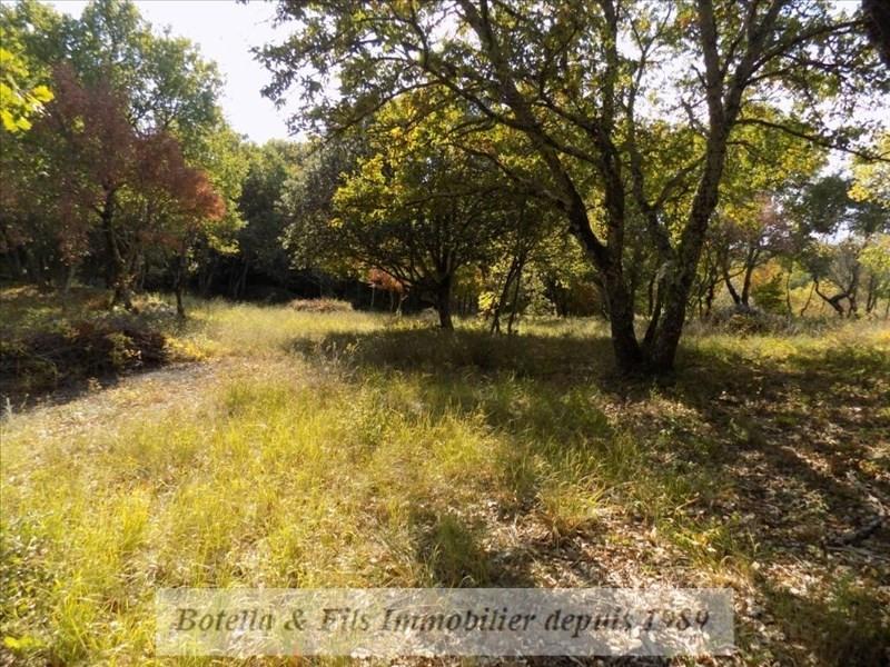 Venta  terreno Barjac 94500€ - Fotografía 1